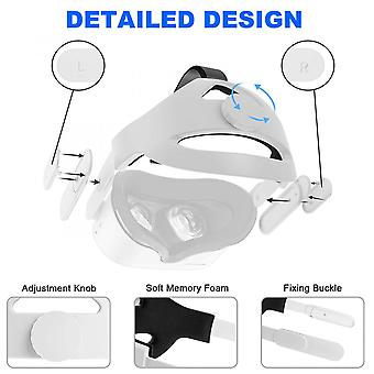 Adjustable Headband Head Strap Replacement For Oculus Quest 2 Vr Glasses Headset