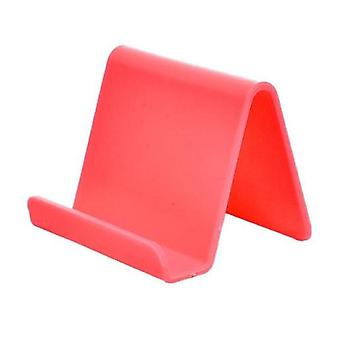 Cetechia Universal Phone Holder Candy Desk Stand - Video Calling Smartphone Holder Desk Stand Red