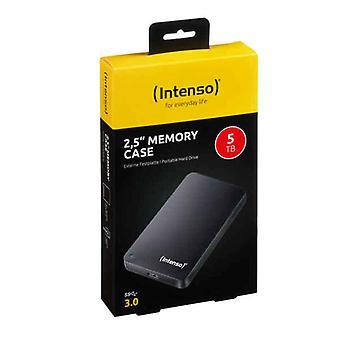 """ekstern harddisk INTENSO minne tilfelle 2,5 """" 5 TB"""
