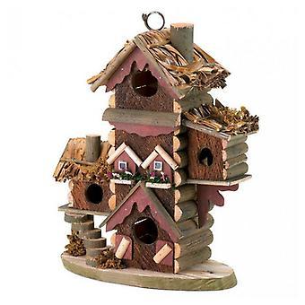 Songbird Valley Multi-Level Wood Bird Lodge, Pack of 1