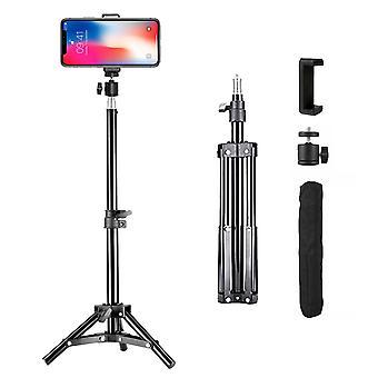 Tripod Stand Camera Phone Holder Universal Mount Adjustable Aluminium 0.5m