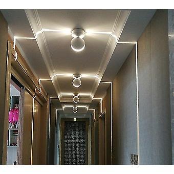 Led Window Light Colorful Remote Control Corridor Light 360 Degree Light Wall Light (warm)