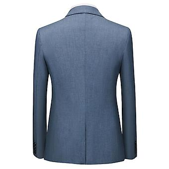 Mile Mens Single Breasted 1 Piece Suit Tailored Fit Jacket