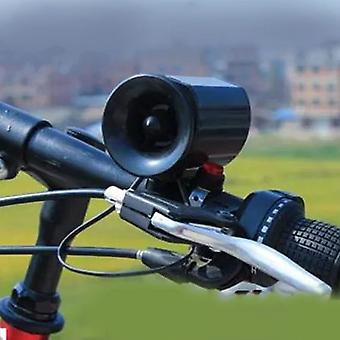 6 sons super bruyants Vélo électronique Cloche Vélo Klaxon Sirène Sonne Alarme Haut-Parleur