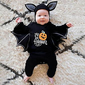 Vêtements de bébé pour bébé Romper Automne Hiver Bébé Garçon Fille Vêtements Bat Manches longues Enfants Nouveau-né Combinaison Bébé Halloween Costume