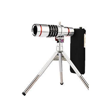 58mm vidvinkel linse med pose 0,45x