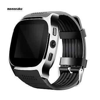 Smartwatch المقاوم للماء الرياضة القمرية ممارسة بلوتوث كاميرا عداد الخطى سوار ساعة ذكية هدية رياضية للماء ممارسة بلوتوث كاميرا عداد الخطى