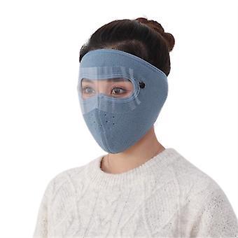 Maschera da sci per il freddo Maschera facciale traspirante antivento per uomini Donne in sella a moto