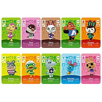 Nfc Game Card For Animal Crossing, Compatible With Nintendo Switch Amiibo / Switch Lite / Wii U - 150 Coco