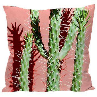 Puckator Pink Cactus Cushion 50 x 50cm