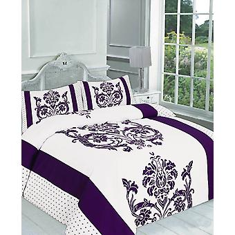 Darcy Printed Duvet Quilt Cover Bedding Set