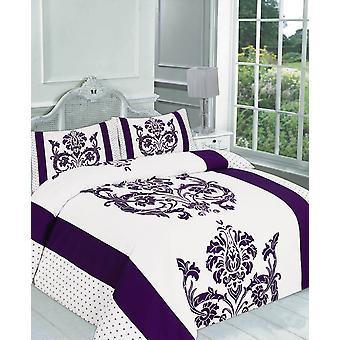 Darcy gedruckt Quilt Bettbezug Bettwäsche Set