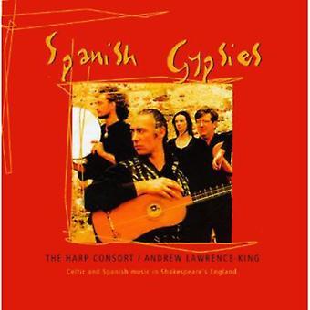 アンドリュー ・ ローレンス = キング ・ ハープ コンソーシアム - スペイン語ジプシー: ケルトとシェイクスピアーの [CD] 米国のスペイン語音楽をインポート