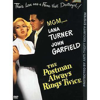 Postbudet altid ringe to gange (1946) [DVD] USA importerer