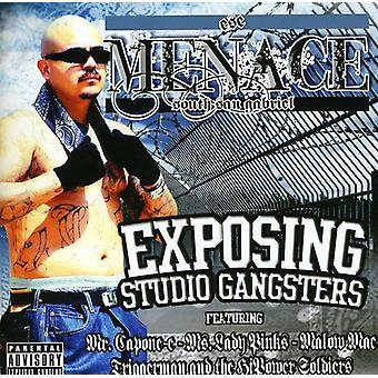 Menace - Exposing Studio Gangsters [CD] USA import
