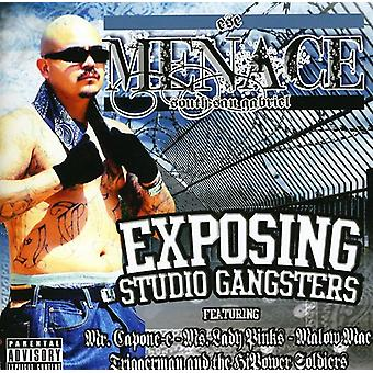 Menace - exposant importation USA Studio Gangsters [CD]