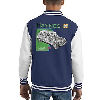 Haynes Owners Workshop Manual 0072 Renault 4 Kid's Varsity Jacket