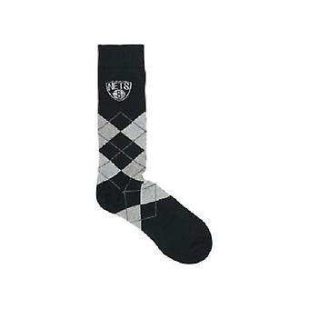Brooklyn Nets NBA Argyle Dress Socks