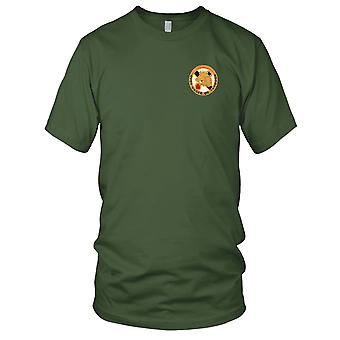 US Army - 104th Cavalry Regiment Embroidered Patch - Mens T Shirt