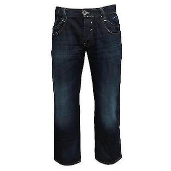Teddy Smith Riley Men's Straight Leg Relaxed Fit Denim Jeans