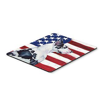 الولايات المتحدة الأمريكية العلم الأمريكي مع العظمى الدانماركي لوحة الماوس، ولوحة الساخن أو ترفة
