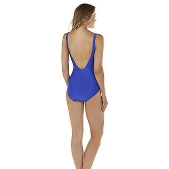 Seaspray 33-2150 Women's Just Colour Sapphire Blue Shaping Swimsuit