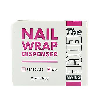 The Edge Nails Nail Wrap Dispenser Silk