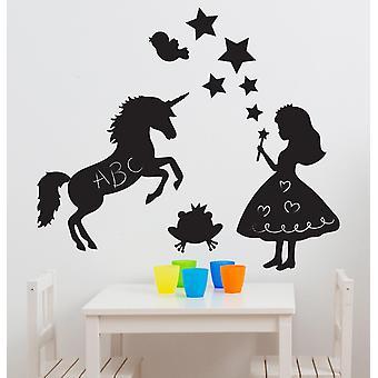 Suncrest FunToSee Magic Fairy Kingdon 10 Chalkboard Wall Stickers