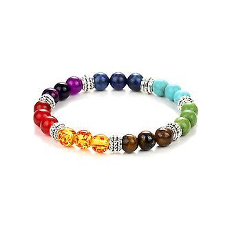 Bracelet Stretch en Pierres Naturelles Multicolor 6785