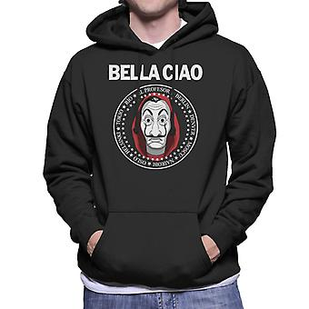 Casa De Papel Money Heist Bella Ciao Men's Hooded Sweatshirt