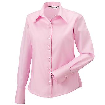 Russell Womens Long Sleeve Ultimate Non Iron Shirt