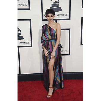 Regno Unito fuori Zendaya Coleman agli arrivi per il 57 ° Annual Grammy Awards 2015 - arrivi parte 2 Staples Center Los Angeles Ca 8 febbraio 2015 foto di Charlie WilliamsEverett
