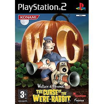 Wallace Gromit förbannelsen av var kanin (PS2)-ny