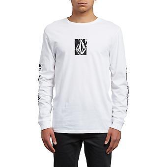 Volcom pixel Stone Långärmad T-shirt i vitt