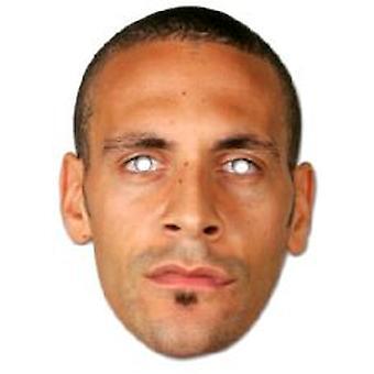 Rio Ferdinand Gesichtsmaske.