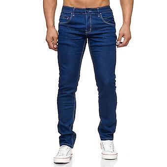 Men's Stretch Jeans Pants Designer JoggJogging Denim Denim Chino Slim fit Allinone