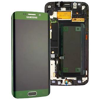 Дисплей LCD установить прикосновение зеленый Samsung Галактика S6 края G925 G925F GH97 17162E