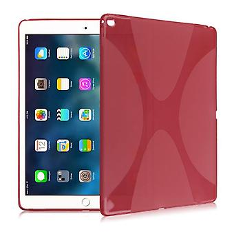 Protective cover silicone X-line series red case for iPad Pro 10.5 2017 bag