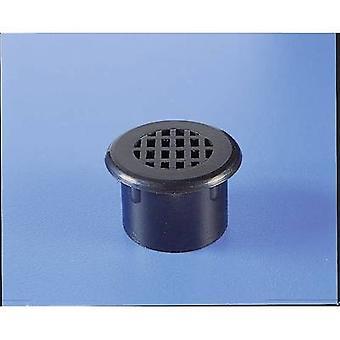 Strapubox M 1 Ventilation plug Acrylonitrile butadiene styrene Black 1 pc(s)