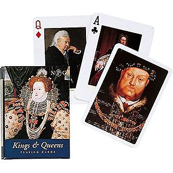 Konger og dronninger sett med kort + jokere