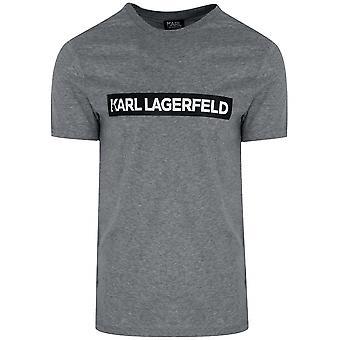 Lagerfeld Lagerfeld White Chest Logo T-Shirt
