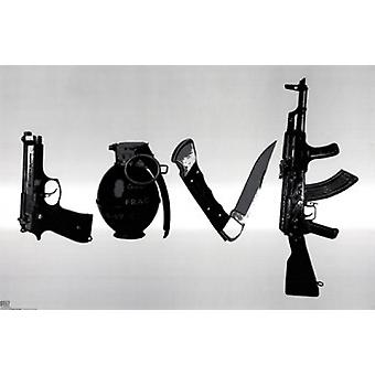 Love Poster Poster Print by Steez