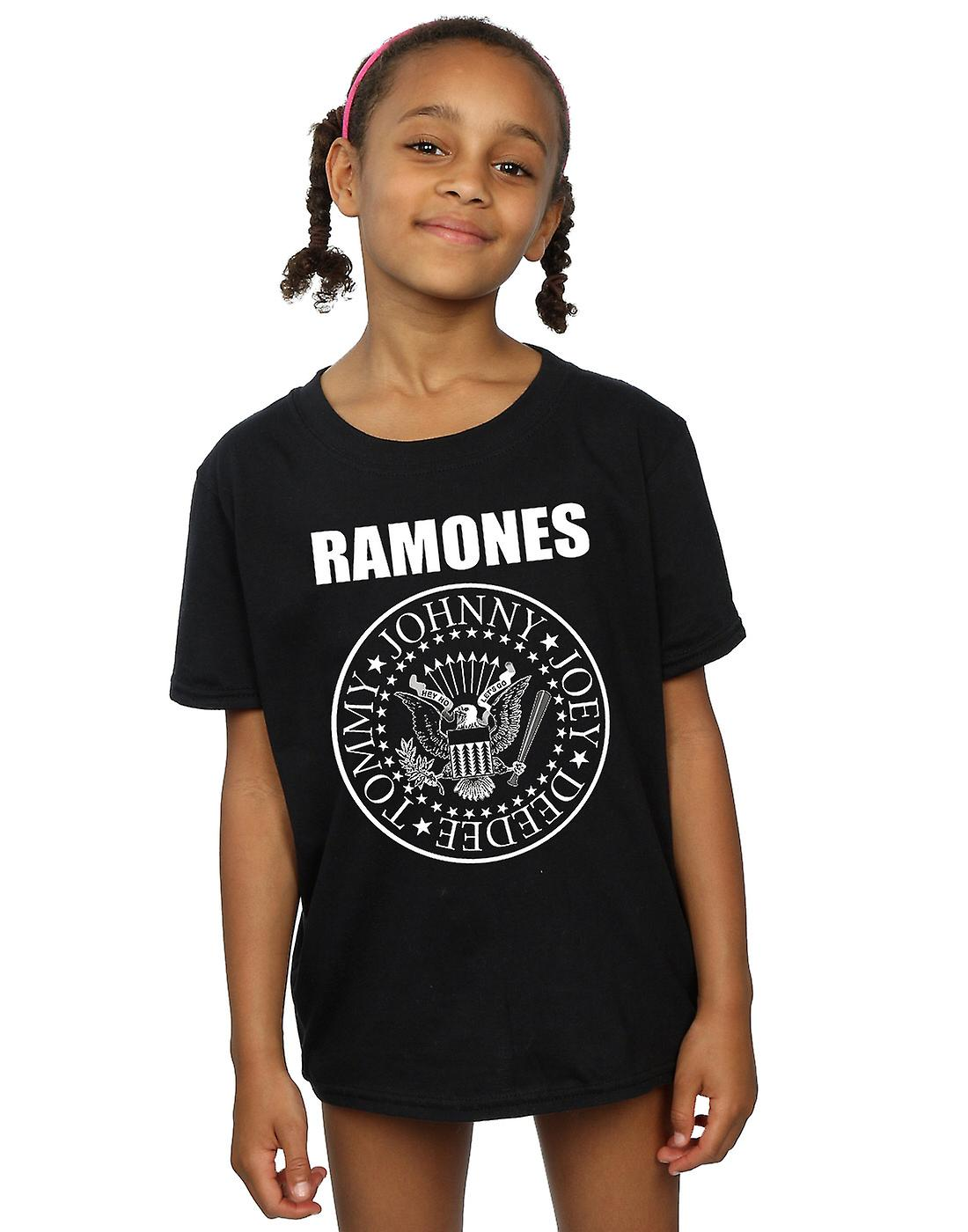 Ramones Girls Presidential Seal T-Shirt