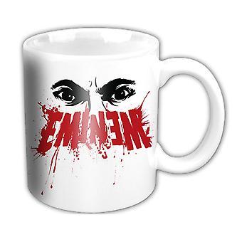 Eminem Mug Eyes logo marshall mathers kamikaze Slim Shady Official White boxed