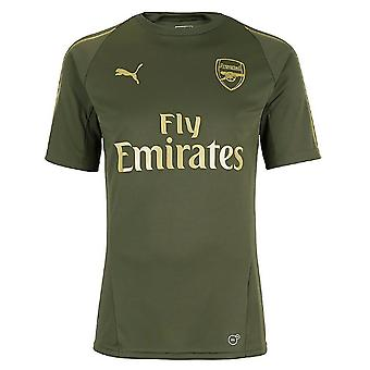 2018-2019 Arsenal Puma Training Shirt (Forest Night)