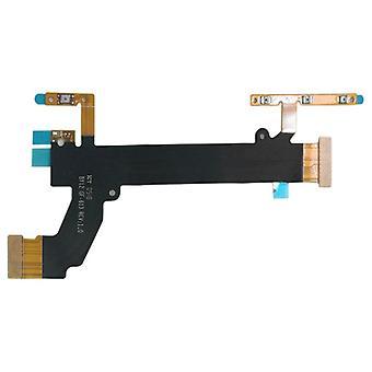 Main power painiketta määrä tärinää Flex-kaapeli Sony XPERIA XA2 Flex pääosasta