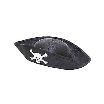 Pirate Hat. Black. Childs Size.