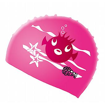 BECO silikon Junior Sealife badehette - rosa