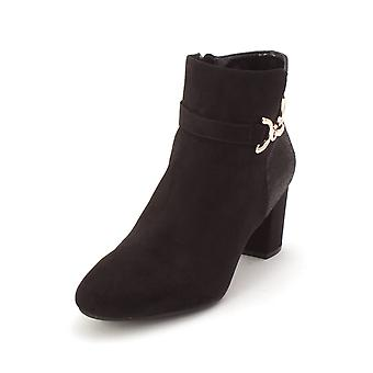 Karen Scott Womens Justyce Fabric Closed Toe Ankle Fashion Boots