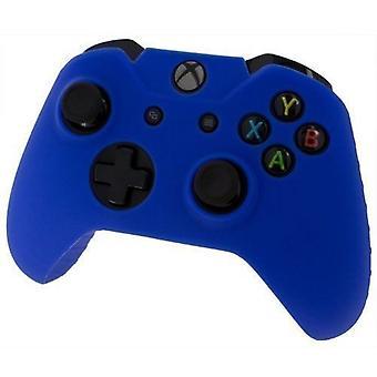 Assecure pro のシリコン皮膚グリップ保護カバー ゴム製バンパー ケース Xbox 1 つ青
